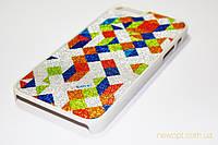 Чехол iPhone 5, 5s Мозаика с напылением