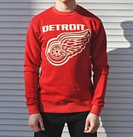 Свитшот Detroit красный