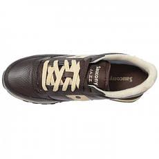 Кроссовки Saucony Jazz Leather (коричневые), фото 3