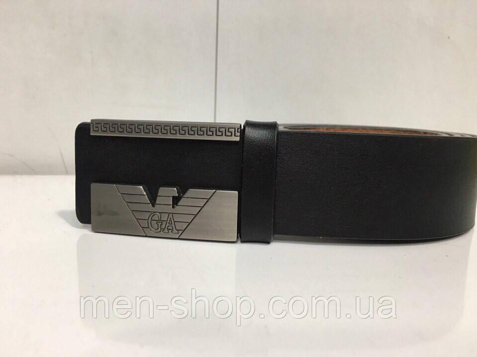 Стильный кожаный ремень в стиле Giorgio Armani