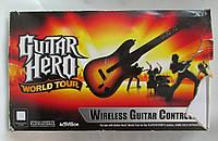 Guitar Hero World Tour (PS2) (гитара)б/у