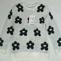 Кофта на девочку травка NiceWear цветочки, фото 1