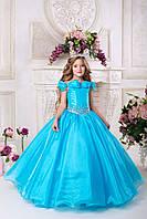 Нарядное платье для девочки 9713