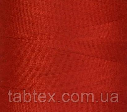 Швейная нитка №50(20/2)№D115 красная (4000ярд.)китай