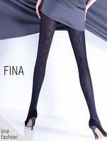 Колготки с имитацией ботфорт и узором Fina 150 (модель 11)