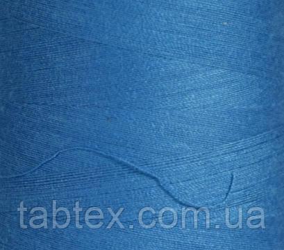 Швейная нитка №50(20/2)№D314 бирюзовая/голубая (4000ярд.)китай