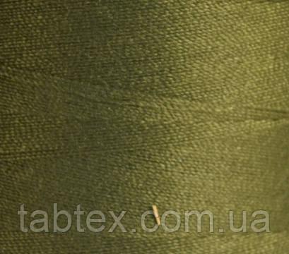 Швейная нитка №50(20/2)№D398 хаки (4000ярд.) китай