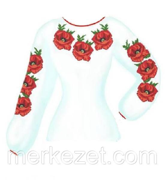 """Заготовка для женской вышиванки """"Цветок"""""""