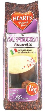 Кофейный напиток Капучино Hearts Amaretto ,1 кг, фото 2