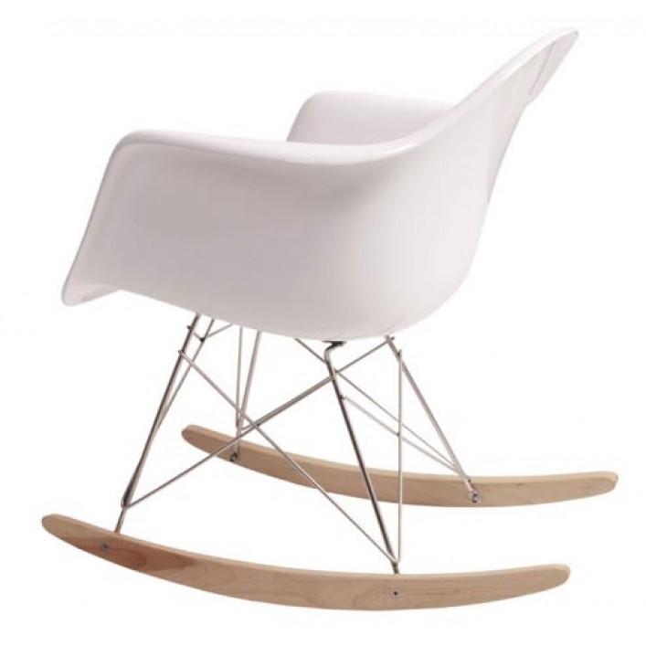 Кресло - качалка Тауэр R белое
