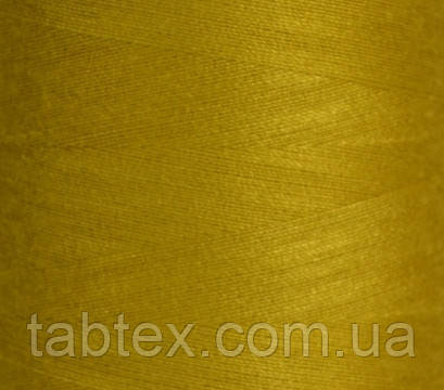 Швейная нитка №50(20/2)№D539 горчица (4000ярд.) китай