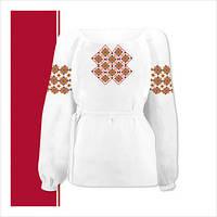 Заготовка сорочки-вышиванки для девочки (размер 3-44)