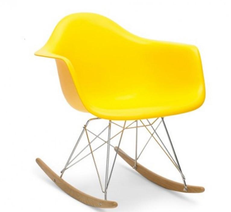 Кресло - качалка Тауэр R желтое