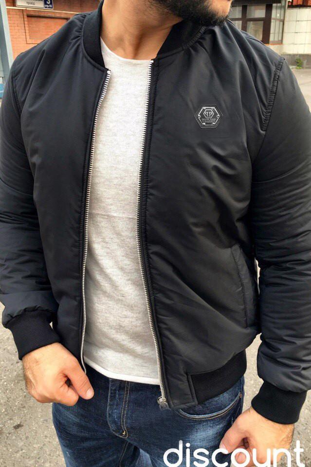 f6842072 Мужская утепленная куртка philipp Plein (филипп плейн), куртка мужская,  куртка , фото