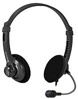 Наушники Defender Aura 104 Black / кабель 1,8м.