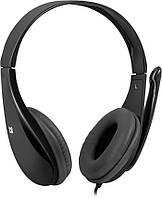 Наушники Defender Aura 111 Black / кабель 2м.