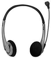Наушники Defender Aura 114 Black-Silver / кабель 1.8м.