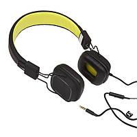 Наушники Gemix Clarks черно-зелено-желтый