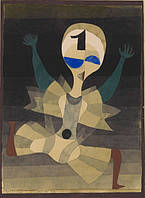 "Paul Klee's ""Runner at the Goal"" (1921)"