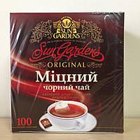 "Чай ТМ ""Sun Gardens"" 100 пакетов"