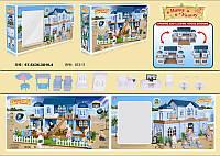 """Домик """"Happy Family"""", флоксовые животные,  в кор. 68*36*16см (4шт)(012-11)"""
