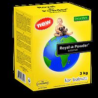 Концентрированный бесфосфатный стиральный порошок «Royal Powder Baby» 3 кг