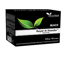 Концентрированный бесфосфатный стиральный порошок «Royal Powder Black» 0.5 кг