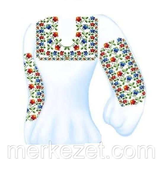 """Заготовка для вышивки бисером """"Украинское поле"""". Вышиванка ручной работы"""