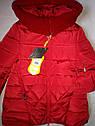 Теплая зимняя куртка пальто на девочку Бетти Размеры 122, 152, 158, фото 4