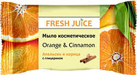 Fresh Juice Мыло косметическое Orange & Cinnamon 75 г