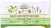 Зеленая аптека Мыло косметическое Чайное дерево и чабрец 75 г