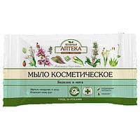 Зеленая аптека Мыло косметическое Базилик и мята 75 г