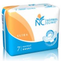 Прокладки для критических дней Normal Clinic ultra Cotton 4 капли, 7 шт. (NC06)
