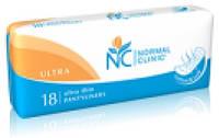 Ежедневные гигиенические прокладки Normal Clinic ultra Cotton 18 шт. 155 мм (NC11)