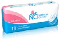 Ежедневные гигиенические прокладки Normal Clinic ultra Top Dry 18 шт. 155 мм (NC12)
