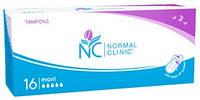 Тампоны для критических дней Normal Clinic maxi 5 капель 16 шт. (TGN004)