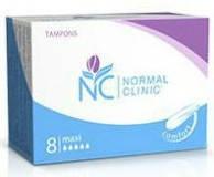 Тампоны для критических дней Normal Clinic maxi 5 капель 8 шт. (TGN014)