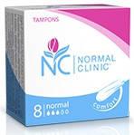 Тампоны для критических дней Normal Clinic normal 3 капли 8 шт. (TGN012)