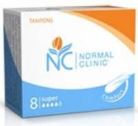 Тампоны для критических дней Normal Clinic super 4 капли 8 шт. (TGN013)