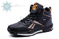 Зимние кроссовки SAYOTA SGUU, мужские, на меху, черные, р. 41