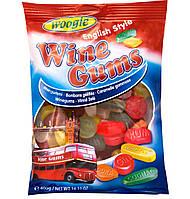 Жевательные конфеты Wine Gums Woogie со вкусом алкогольных напитков, 400 гр