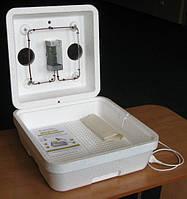 """Инкубатор """"Веселое семейство-2"""" на 80 яиц  с электронной регулировкой температуры (на тене)"""