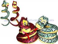 Змея мягкая, диам. 30см (96шт)(A1-1219-2)