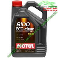 Масло моторное MOTUL 8100 ECO-CLEAN SAE 5W30 5L 841551 / 101545