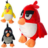 "Мягкая игрушка ""Angry Birds"", размер средний+, 25см, 3 вида (48шт)(MP0015)"