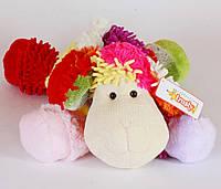 Овца цветная, 40см(C17542)