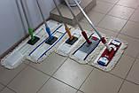 Швабра для влажной уборки на кнопках 45 см, фото 3