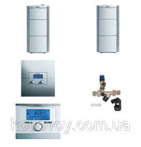 Пакетное предложение №25 ecoVIT exclusiv VKK INT + бойлер actoSTOR VIH K 300 + multiMATIC 700 / calorMATIC 630