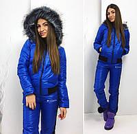 """Зимний женский спортивный костюм синтепон 2068 """"Columbia"""" в расцветках"""