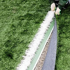 Технология укладки искусственной травы